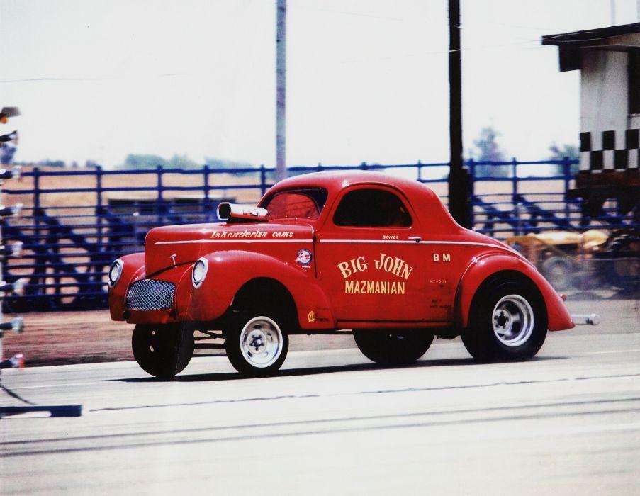 DRAG RACING race hot rod rods willys gasser   c wallpaper