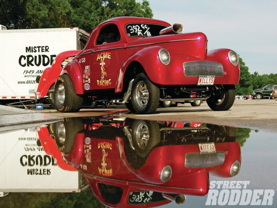 DRAG RACING race hot rod rods willys gasser  bc wallpaper