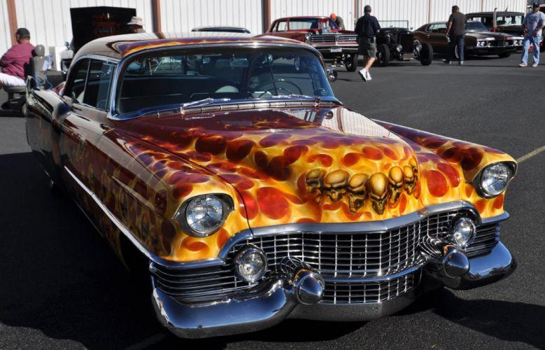 hot rod rods custom Cadillac lowrider g_JPG wallpaper