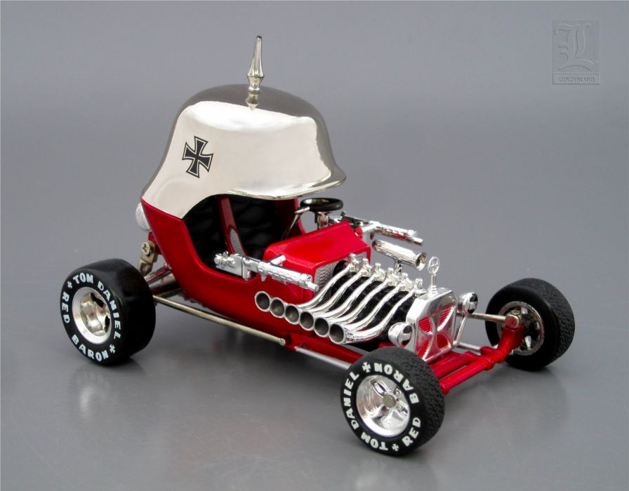 RED BARON hot rod rods custom concept engine           rw wallpaper