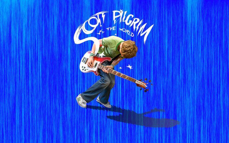 Scott Pilgrim Scott Pilgrim vs_ the World Michael Cera wallpaper