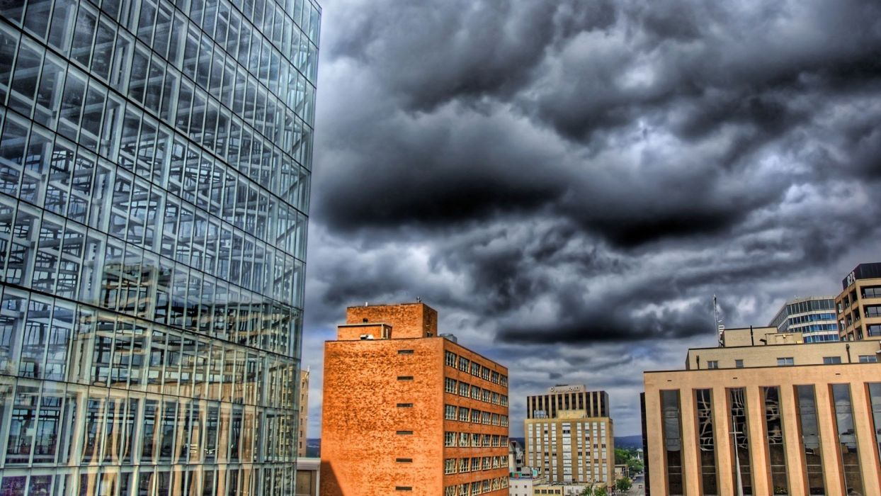 clouds HDR photography wallpaper