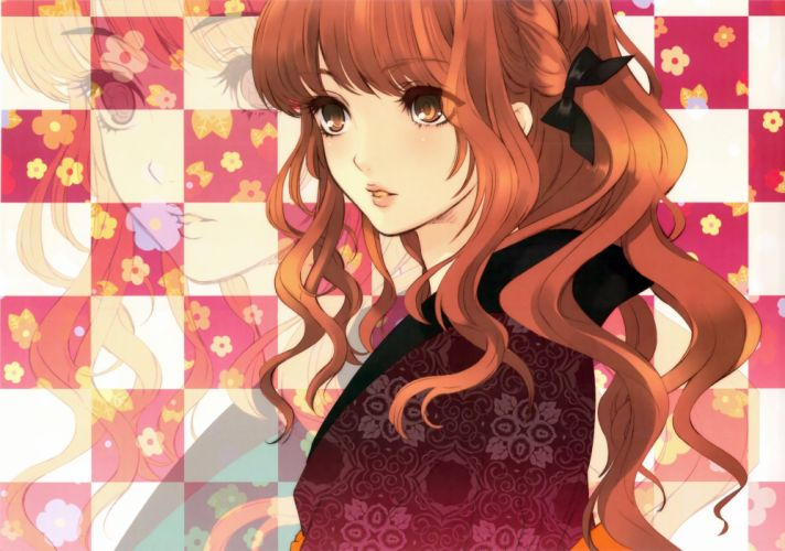 Japanese clothes anime girls wallpaper
