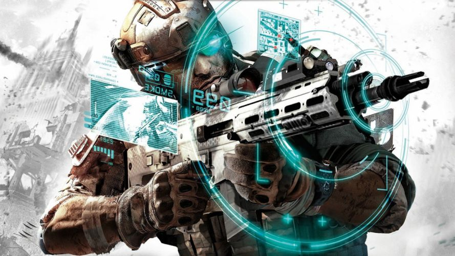 soldiers video games soldier future Tom Clancy wallpaper