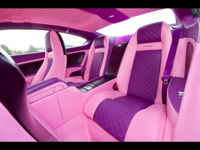 pink Bentley car interiors Mansory wallpaper