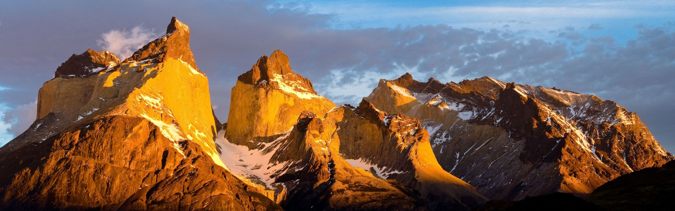 Chile mountains clouds landscapes snow panorama Patagonia wallpaper