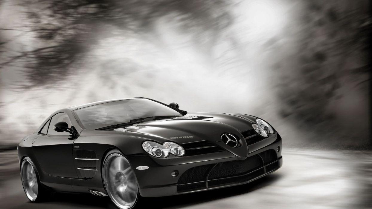 cars transportation races racing cars speed automobiles Mercedes Benz SLR McLaren wallpaper
