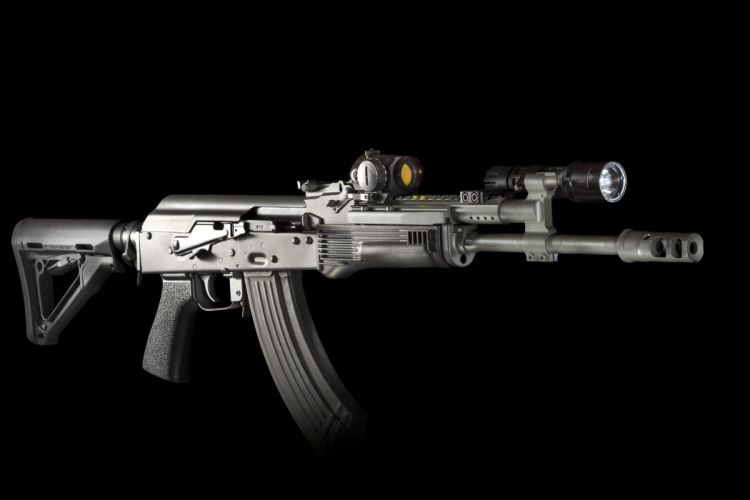 assault automatic rifle wallpaper