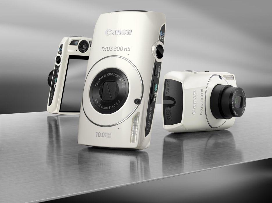 Camera Canon IXUS 300 HS black and white wallpaper