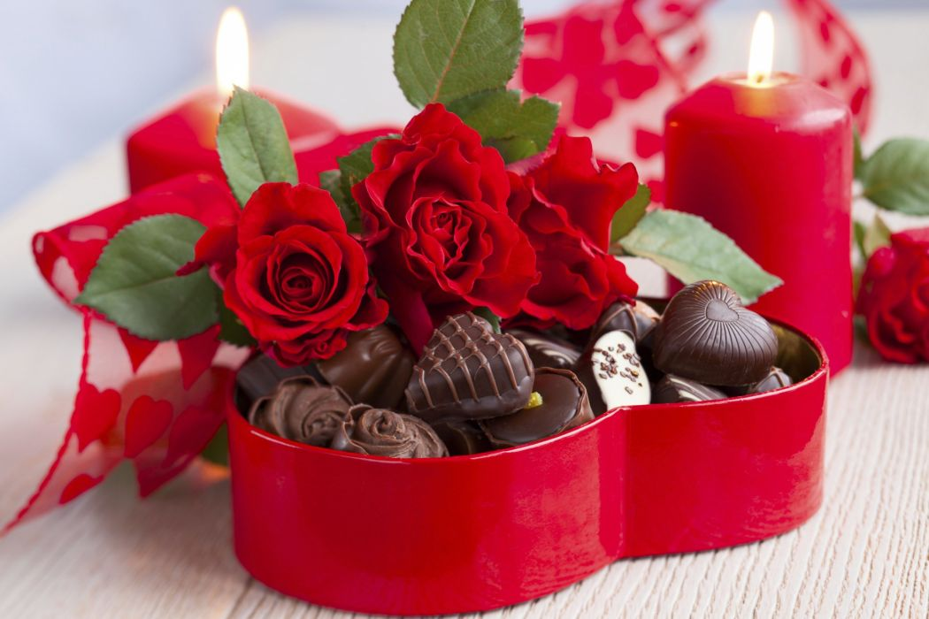 flowers bouquet love february 14 holiday heart candy chocolate wallpaper