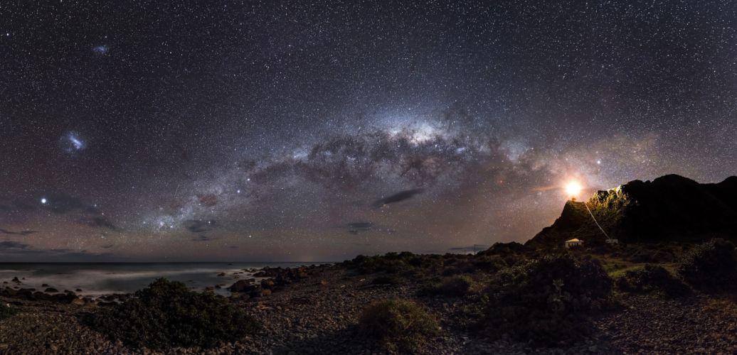 galaxy space starry sky stars wallpaper