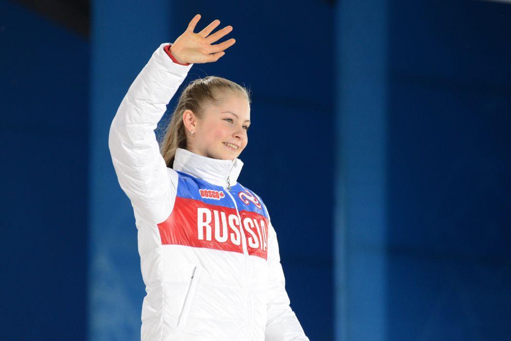 Julia Lipnitskaya figure skating wallpaper
