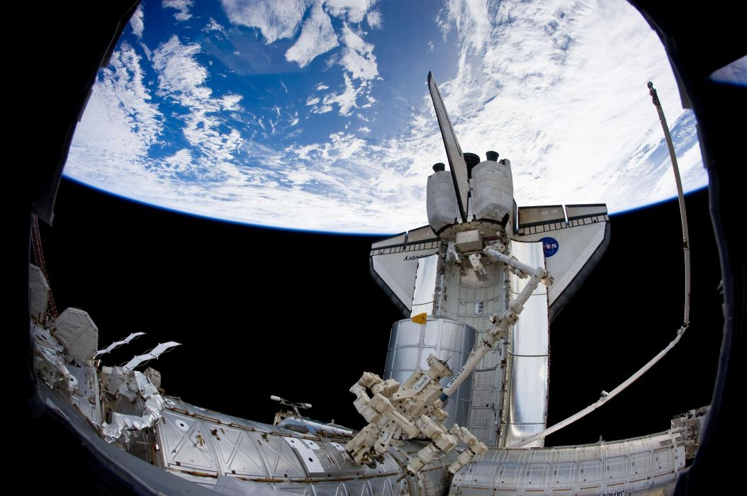 manipulator microseconds space shuttle discovery spaceship wallpaper