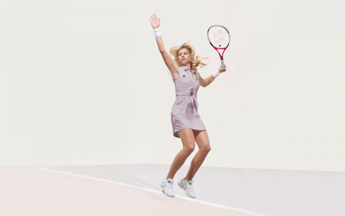 Maria Kirilenko sports tennis adidas wallpaper
