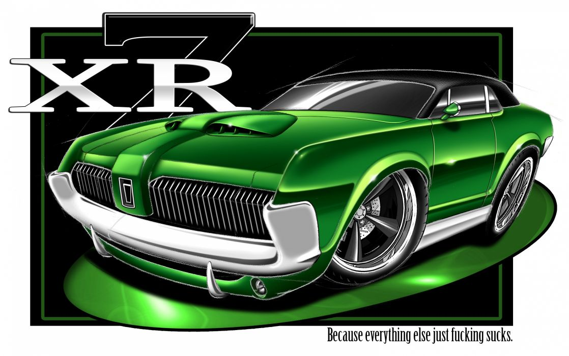 mercury cougar poster hot rod rods muscle tuning classic  g wallpaper