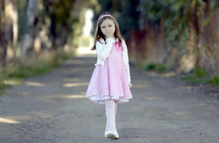 mood children pink girl wallpaper