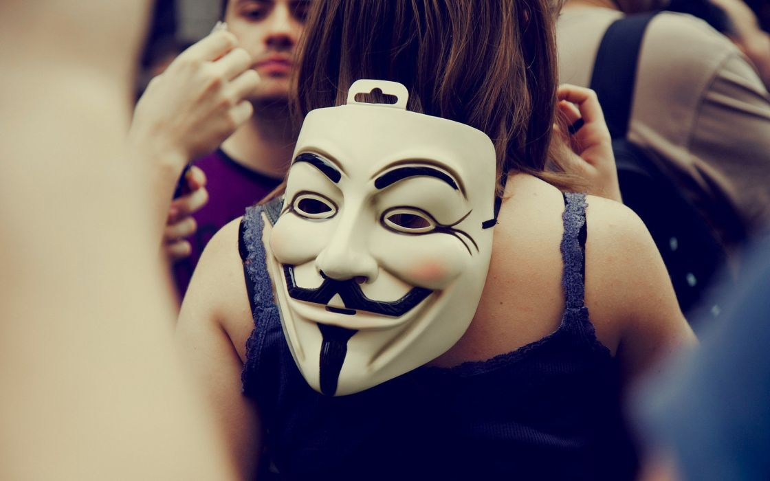 mustache people eyes anonymous mask crowd anarchy crowd protest wallpaper