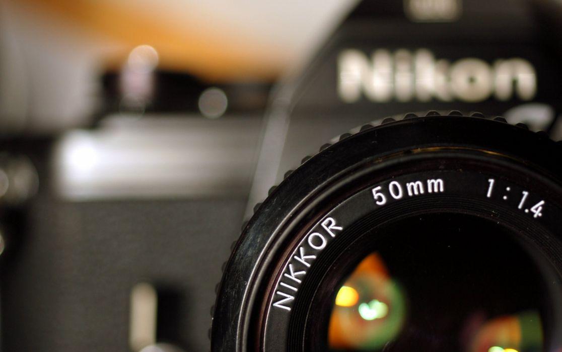 Nikon Nikkor Camera camera lens brand wallpaper