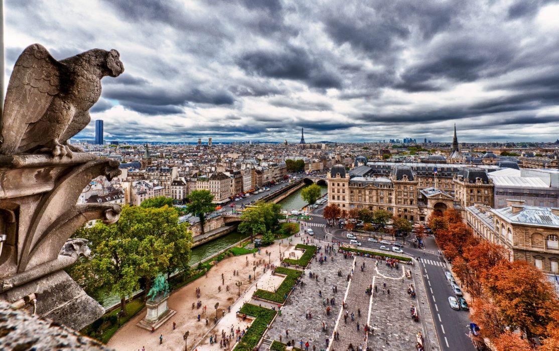 Notre Dame Paris France wallpaper