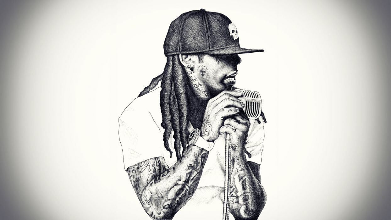 singer rap microphone rap lil wayne rapper hip hop wallpaper
