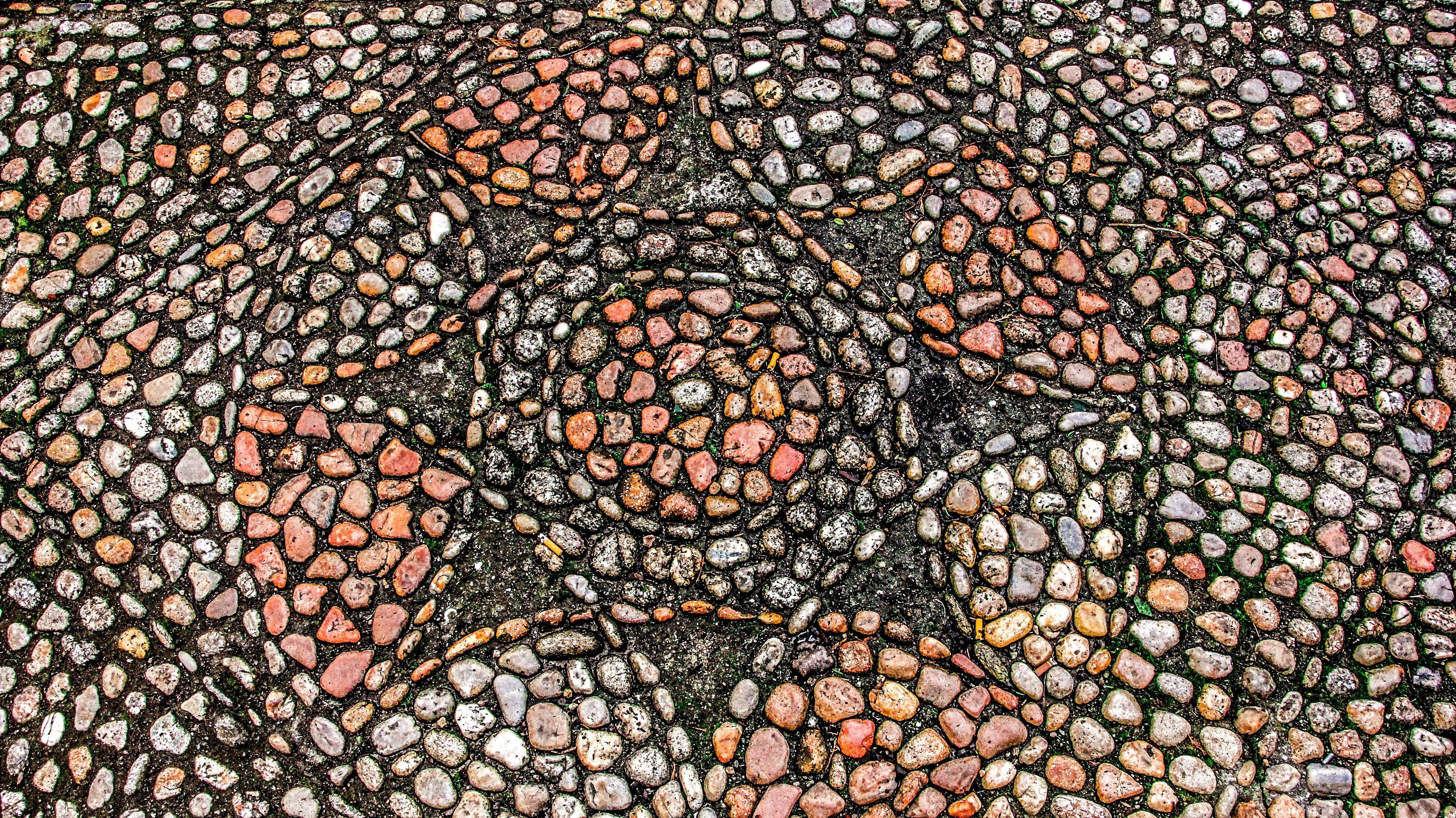 surface pattern stones mosaic wallpaper 5184x2912