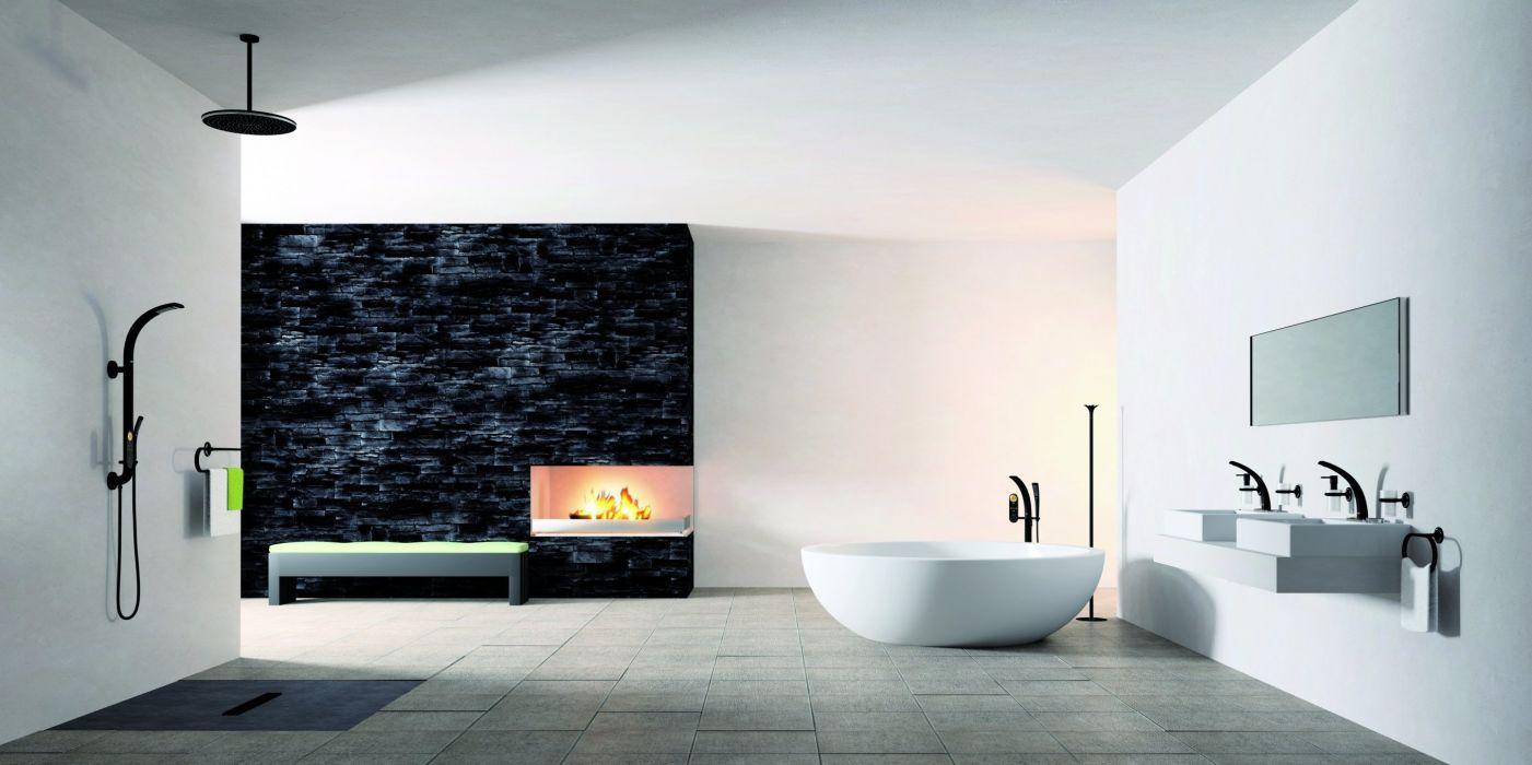 villa design style home interior wallpaper