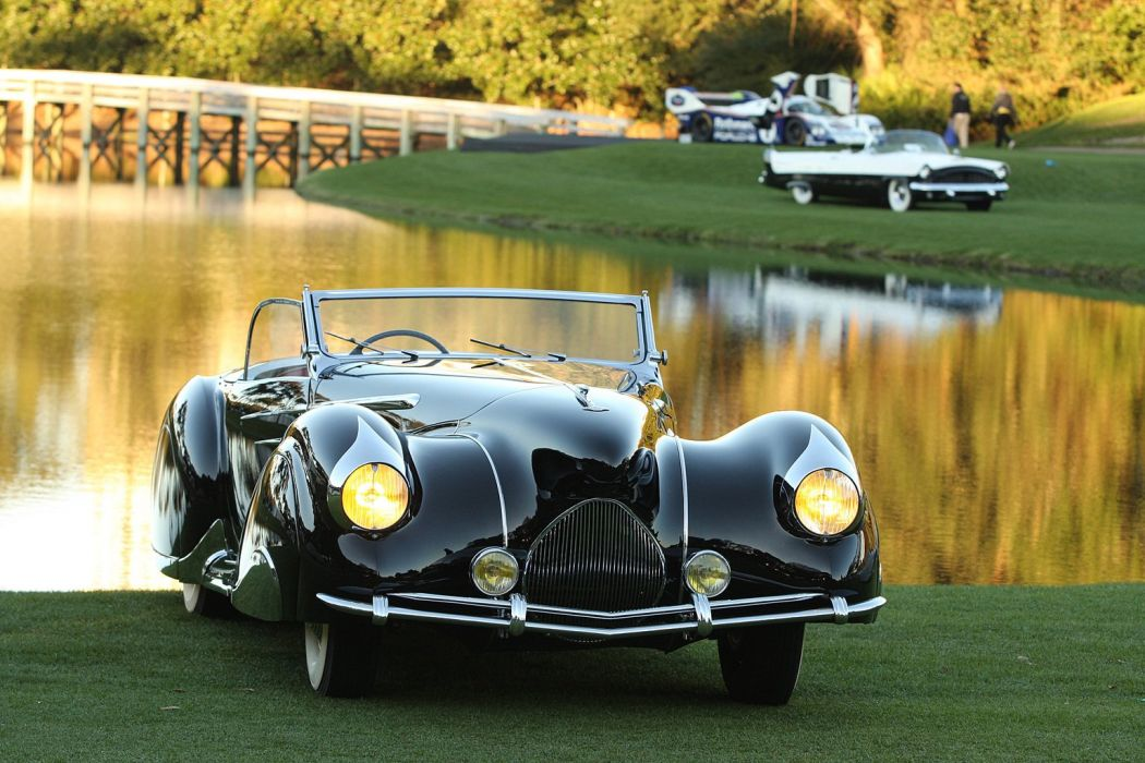 1948 Delahaye 135M Cabriolet Figoni and Falaschi wallpaper