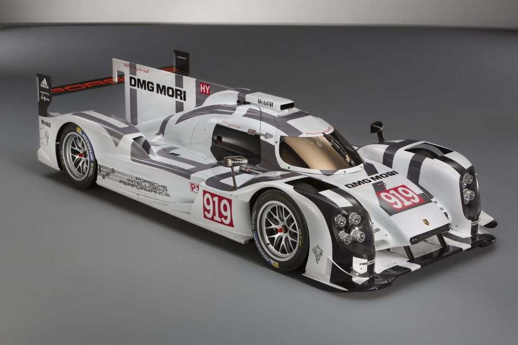 porsche racing gt le mans hybrid wallpaper