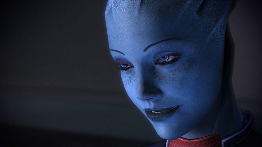 women Mass Effect game Liara wallpaper