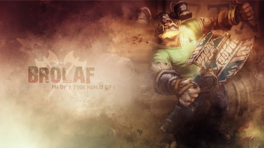 League of Legends Olaf wallpaper