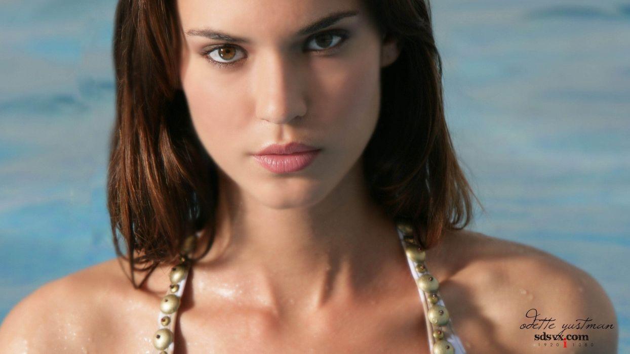 women models Odette Annable wallpaper