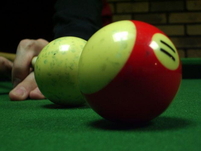 close-up billiards tables wallpaper