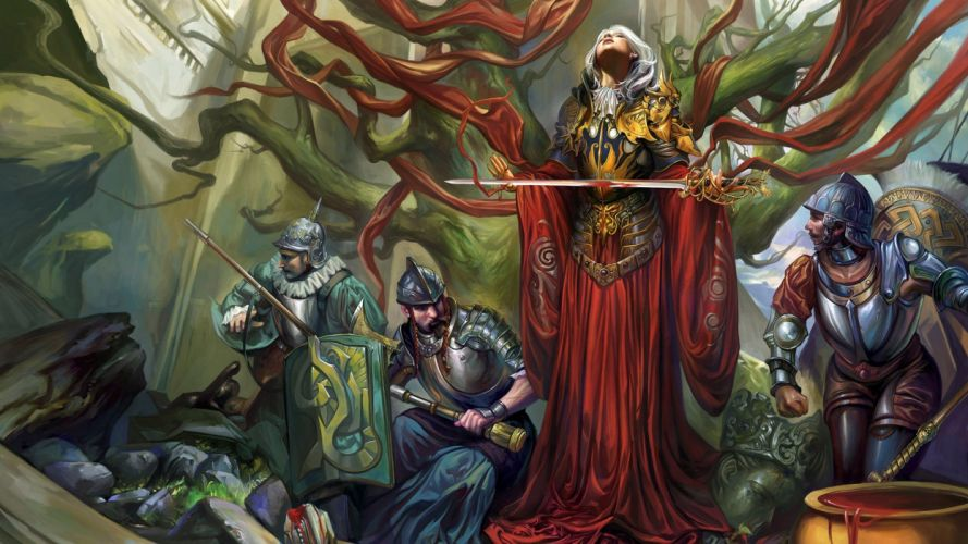 CGI fantasy art conquistador drawings wallpaper