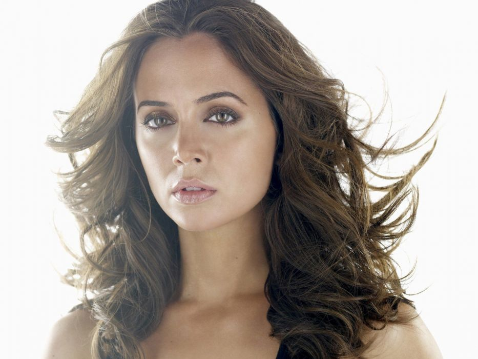 brunettes women Eliza Dushku faces wallpaper
