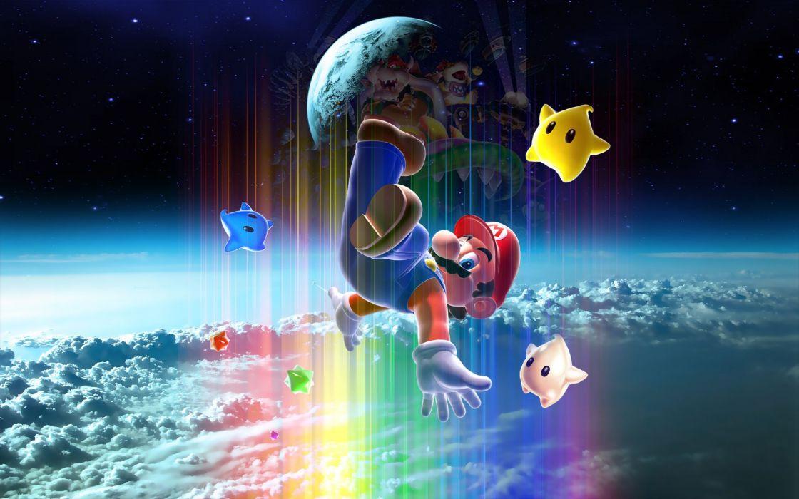 Mario Super Mario Galaxy wallpaper