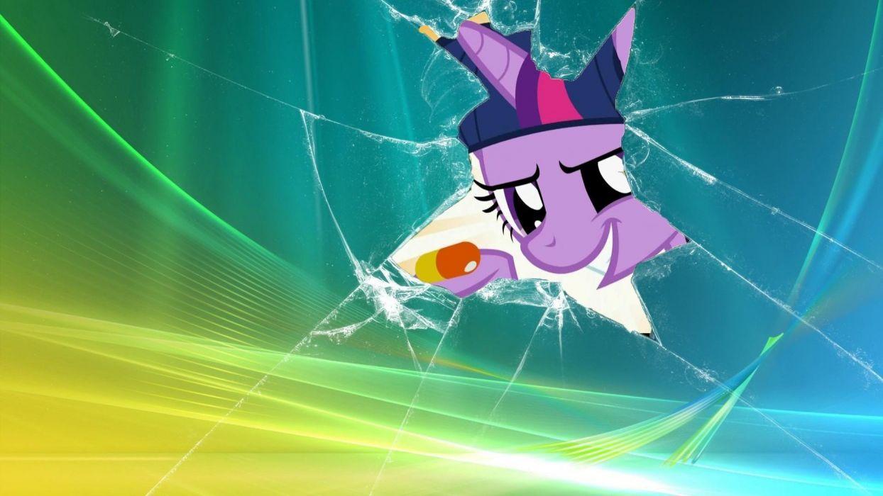 My Little Pony pills Twilight Sparkle wallpaper