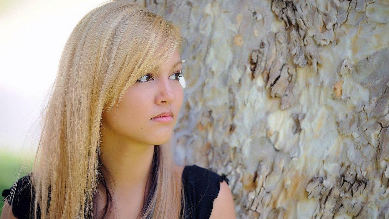 blondes women models FTVGirls magazine Kimberly Kato wallpaper