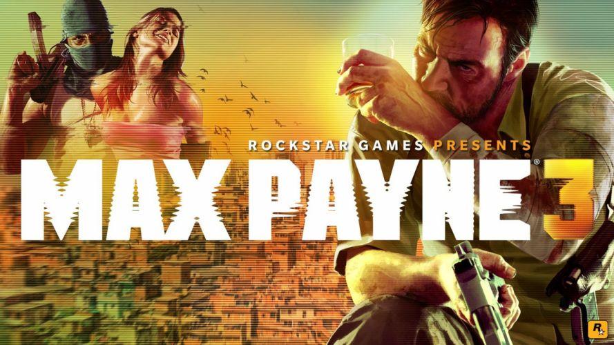 video games Max Payne Max Payne 3 wallpaper