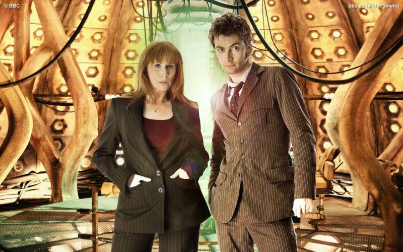 David Tennant Doctor Who Catherine Tate Donna Noble Tenth Doctor wallpaper