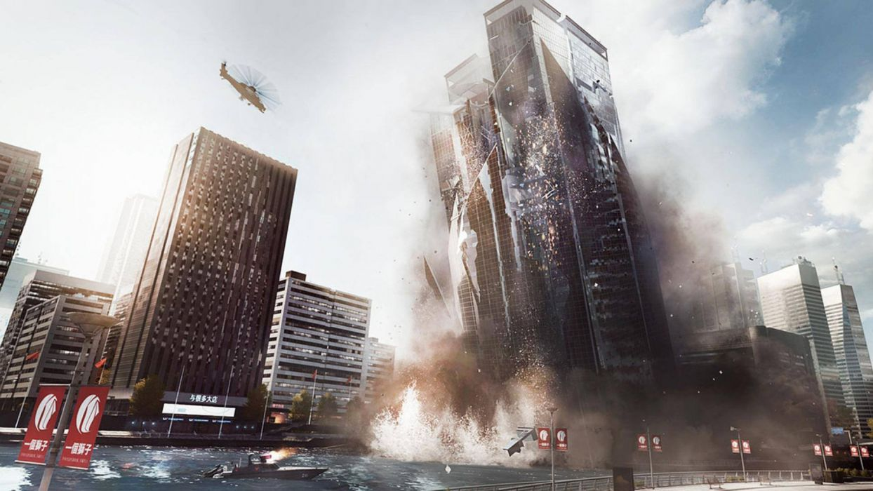 Battlefield dice Shanghai EA Games Battlefield 4 China Rising wallpaper