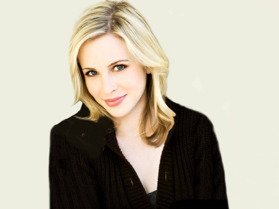 blondes women blue eyes smiling Amy Gumenick wallpaper