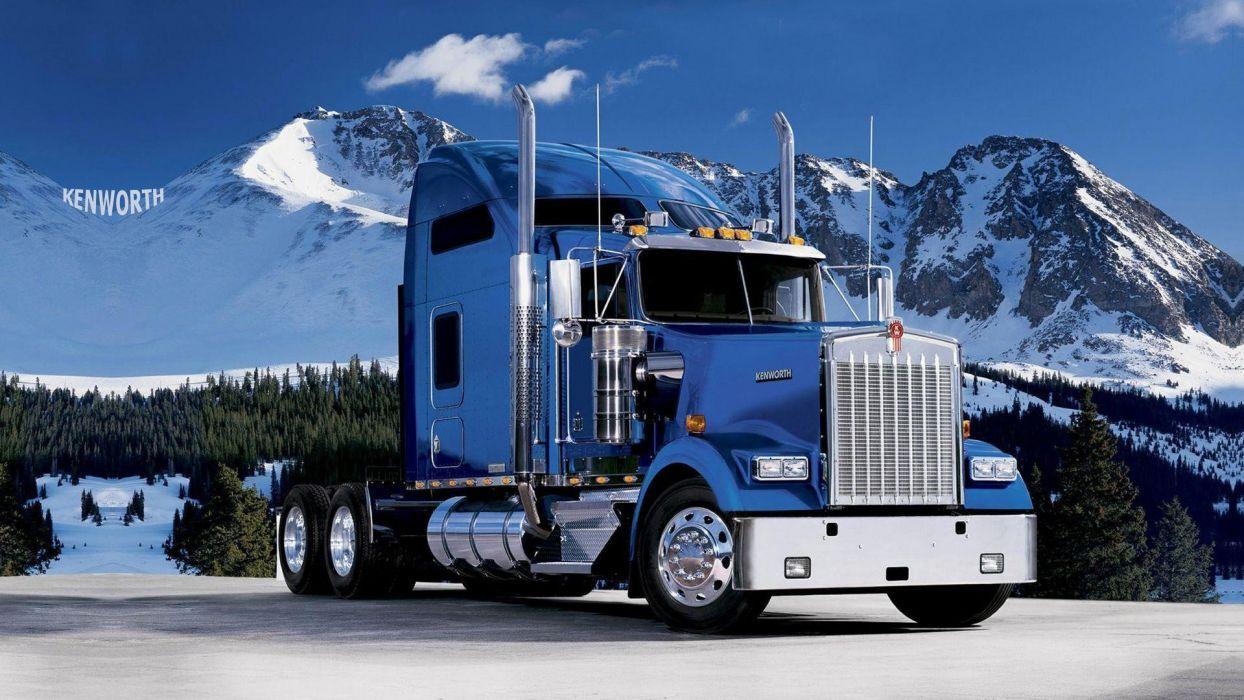 trucks kenworth Peterbilt wallpaper