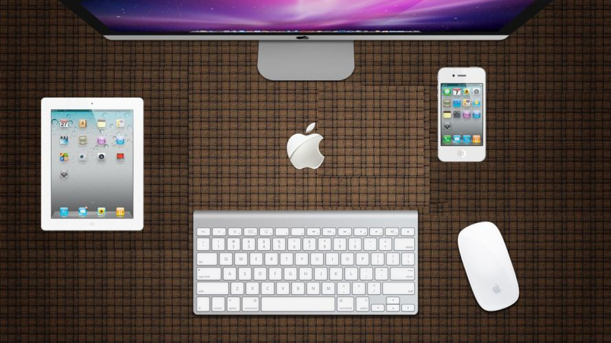 Apple Inc_ Mac wallpaper