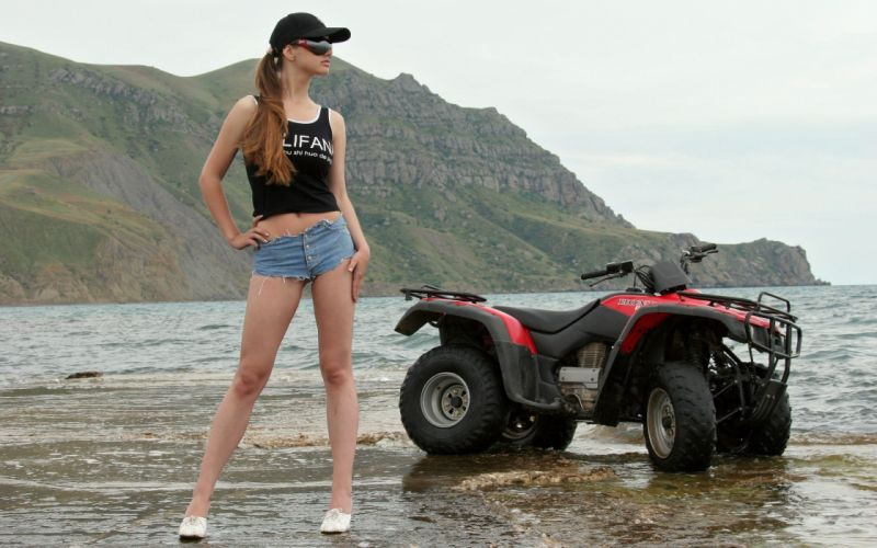 women models outdoors ponytails Just Teen Site Magazine natural lighting caps Sanya - JTS wallpaper