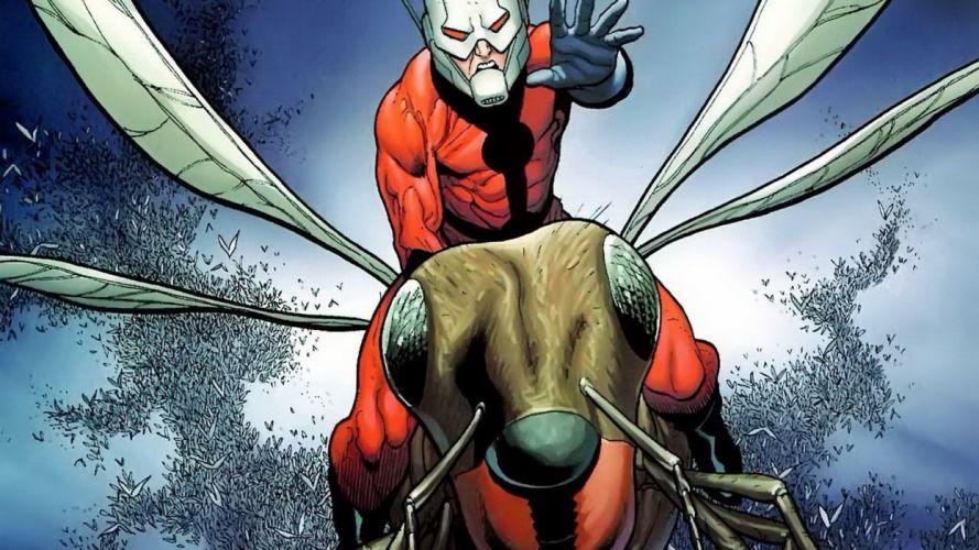 comics bugs artwork Marvel Comics Ant-Man Avengers Antman wallpaper
