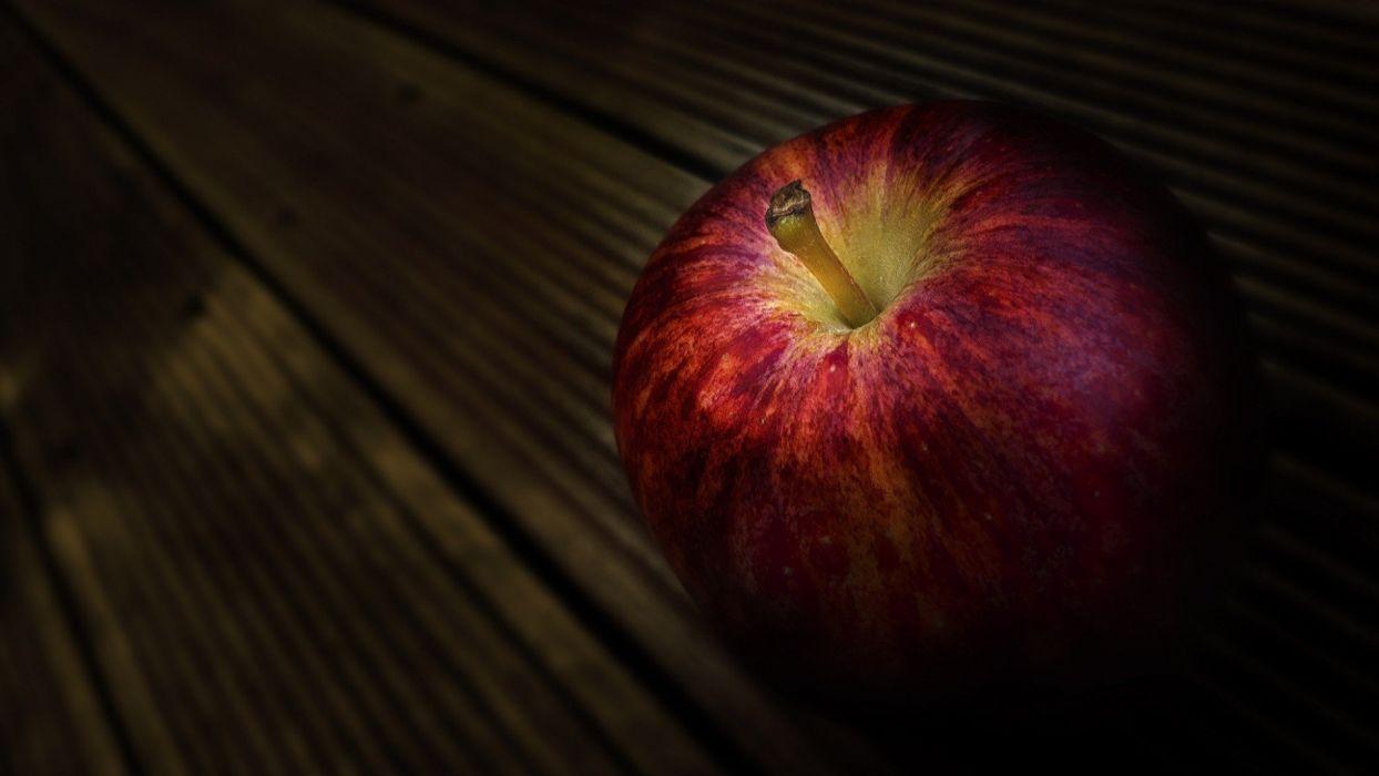 Apple Inc_ fruits macro apples wallpaper