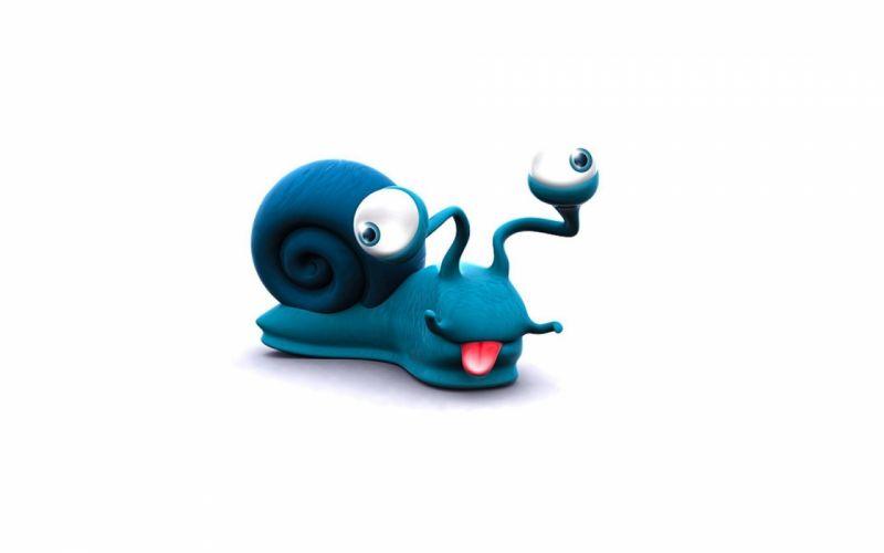 Goofy snail wallpaper