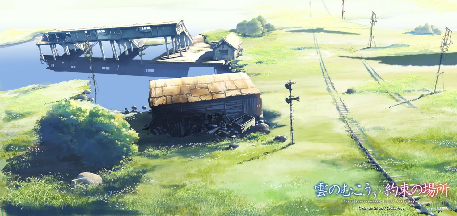 Makoto Shinkai The Place Promised in Our Early Days wallpaper
