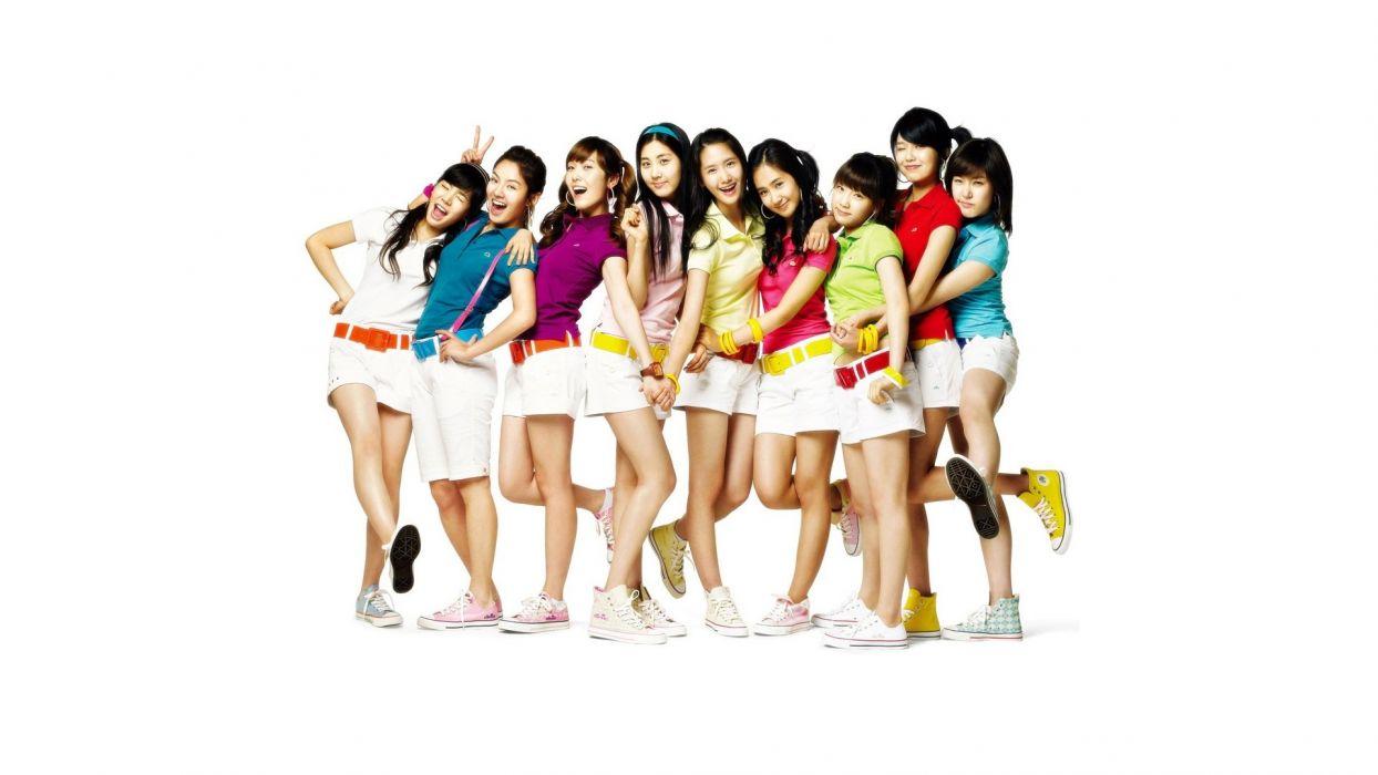women Girls Generation SNSD wallpaper