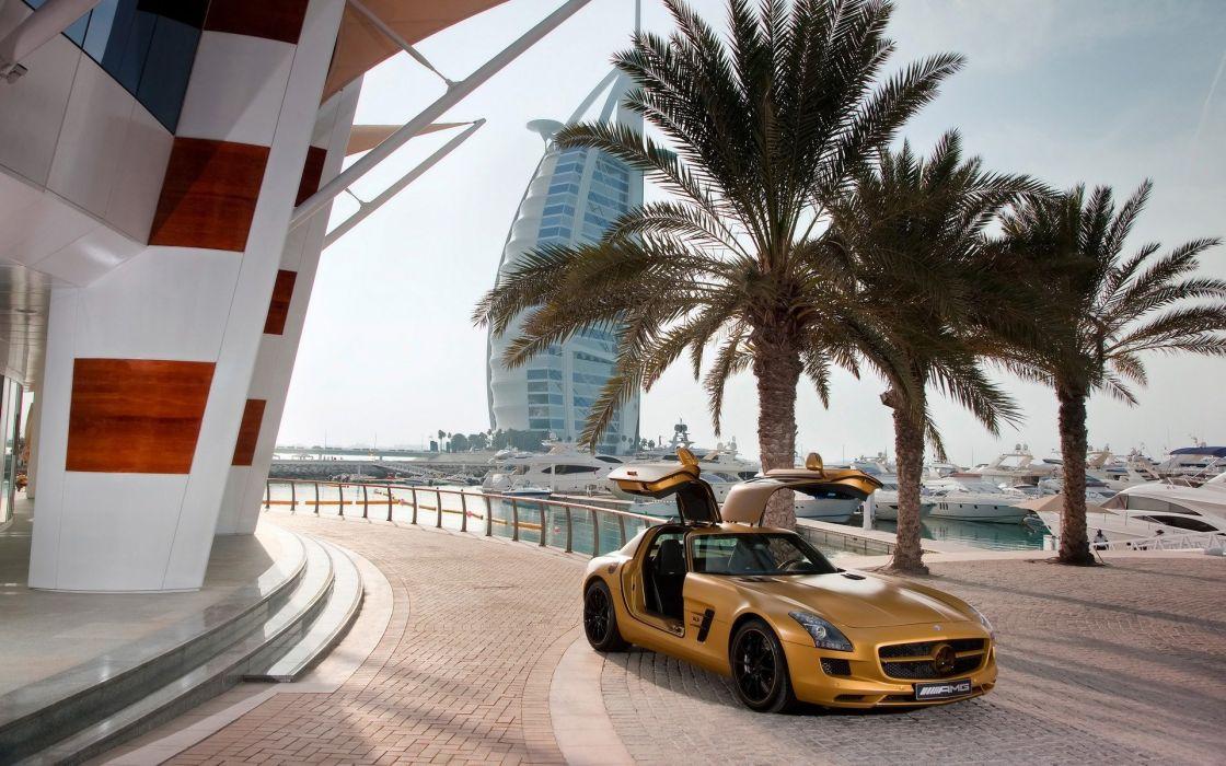 cars Mercedes-Benz Mercedes-Benz SLS AMG E-Cell wallpaper
